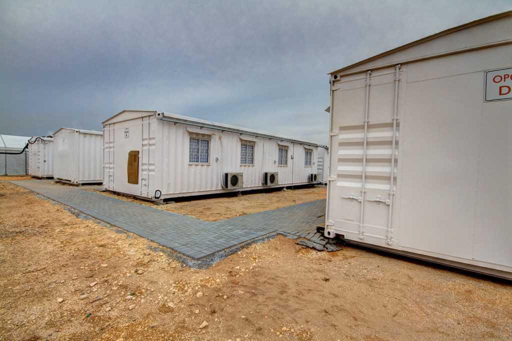 בניית משרדים יבילים לפי דרישה - קבוצת היחידה לבנייה מתועשת.