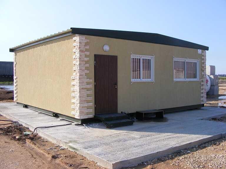 כיתת לימוד - מבנים יבילים - כיתות - גני ילדים - היחידה לבניה קלה