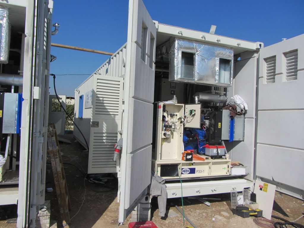 מכולת מעבדה לחברת מקורות - היחידה לבנייה קלה